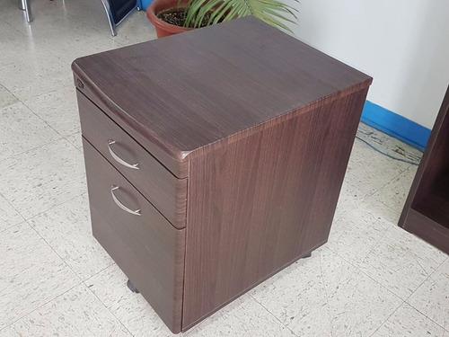 archivador con 2 gavetas y llavín modelo fs-020