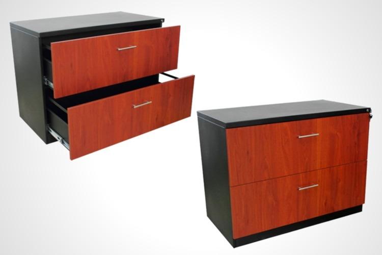 Archivador horizontal dos gavetas bs en - Archivadores de madera ...
