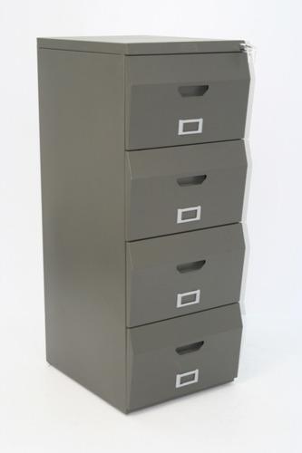 archivador metalico de 4 gavetas
