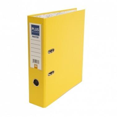 archivador plus office master amarillo lomo ancho a4 c x 25