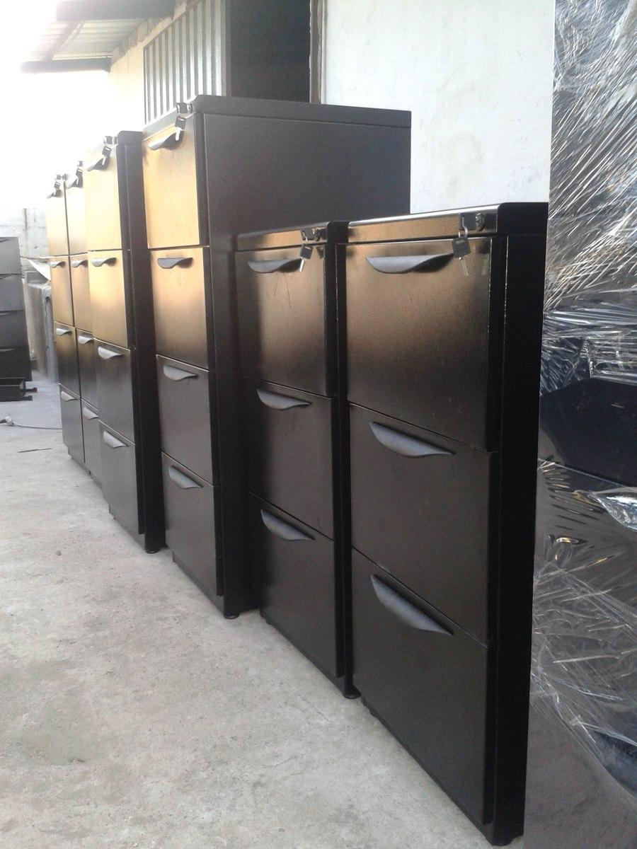 Archivadores metalicos de 3 y 4 gavetas muebles de oficina for Muebles de oficina jm romo