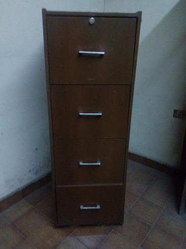 archivero de madera