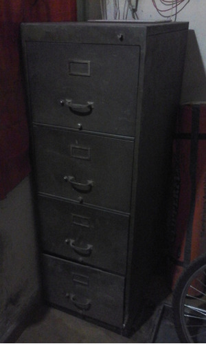 archivero metálico de 4 cajones