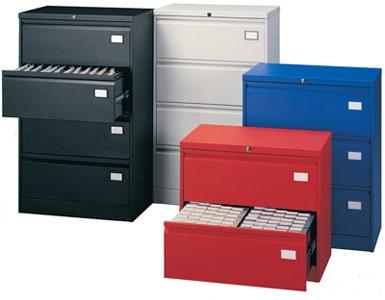 Archiveros ahd archivero horizontal metalico de 2 for Archiveros para oficina