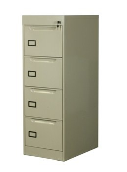 Archiveros ahd archivero vertical metalico 4 gavetas for Archiveros para oficina