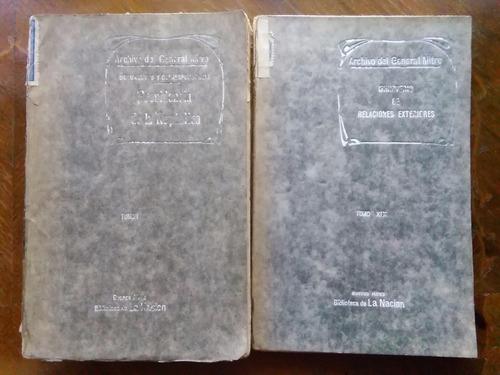 archivo del general mitre tomos i y xix presidencia ministro