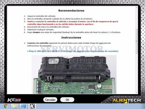 archivos de ayuda instrucciones en español para kess y ktag