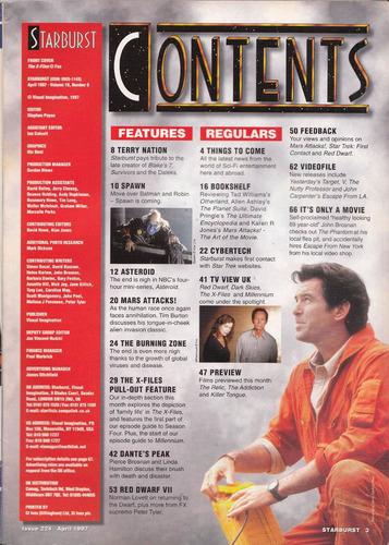 archivos x duchovny revista starburst sci fi inglesa 1995