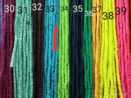 arcilla polimérica pucas gomitas pulseras precio x 8 tiras
