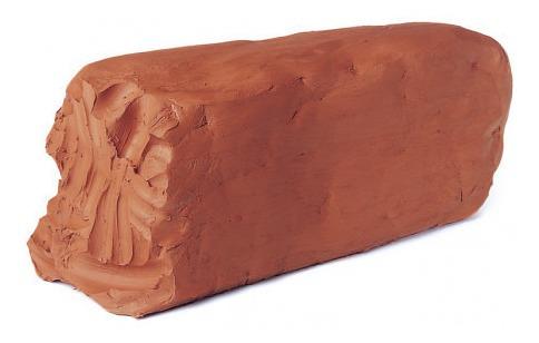 arcilla sintetica terracota para modelar