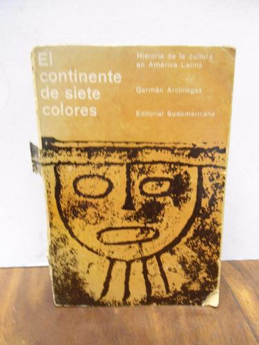 arciniegas  el continente de siete colores edit sudamericana