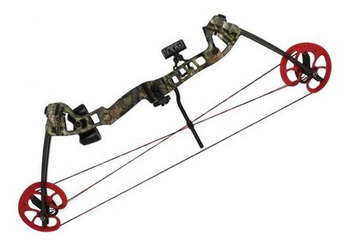 arco composto vortex hunter 45 - 60 lbs destro - camuflado
