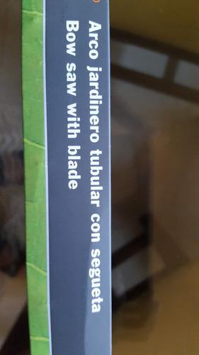 arco con segueta talar jardinería marca truper modelo 10260