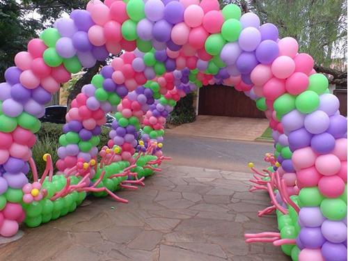 arco de balões completo, festas, arco de bolas - brinde