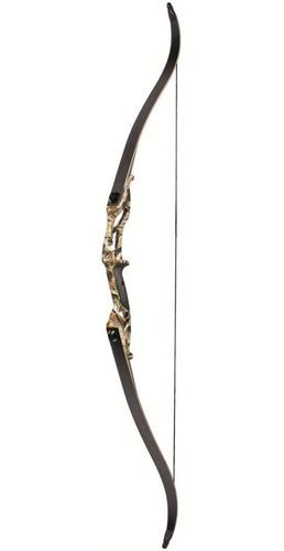 arco de flecha profissional 0-50lbs recurvo arco 56 preto