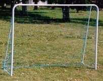 arco de futbol infantil 1.70x1,35x0,50 caño!! c/red, estacas