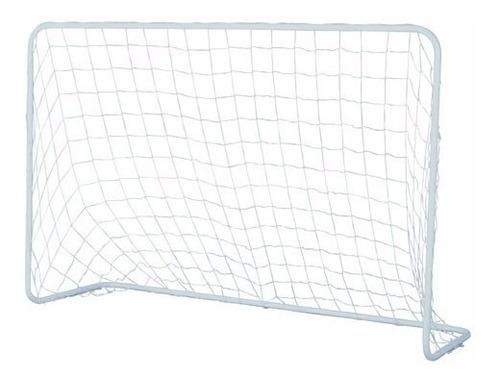 arco de futbol metalico grande 140cm. x 120cm. red nylon