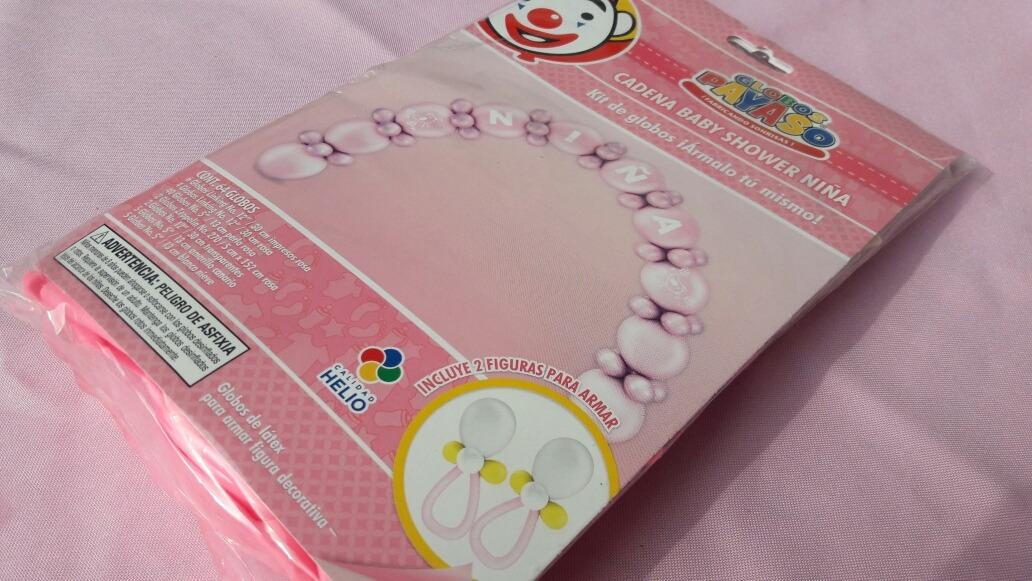c5bc32f6a Arco De Globos Para Baby Shower Prefabricado. -   120.00 en Mercado ...
