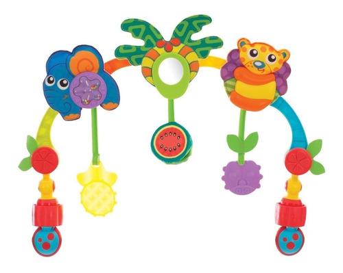 arco de juegos bebe para cochecito huevito tropical playgro