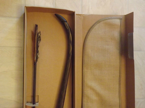 arco de legolas original #43 de 500 hecho a mano unico en ml