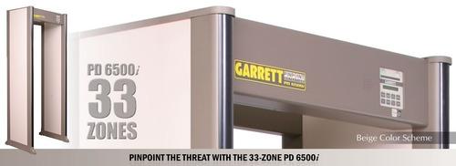 arco detector de armas metales garrett pd6500i carcel cortes
