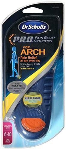 arco dolor alivio ortesis para mujer dr scholl, tallas 6-10