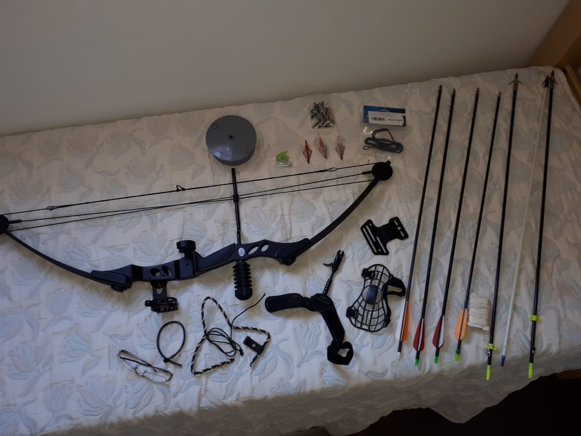 107d4656c arco flecha composto man kung 55 lbs mk-55b completo. Carregando zoom.