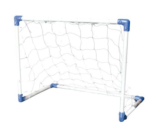 arco futbol chico metalico c/red juegosol 100x80x60