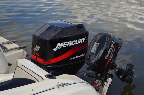 arco iris 18 cuddy mercury 115 hp 4 tiempos vendo o permuto