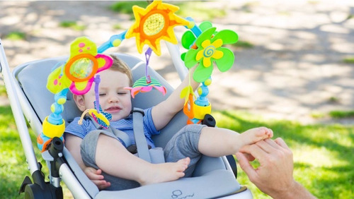 arco juguete tiny love  para cochecito o huevito sunny 6 act