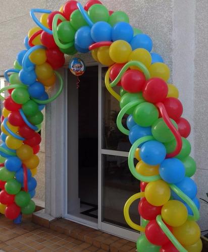 arco para balões desmontável bonus
