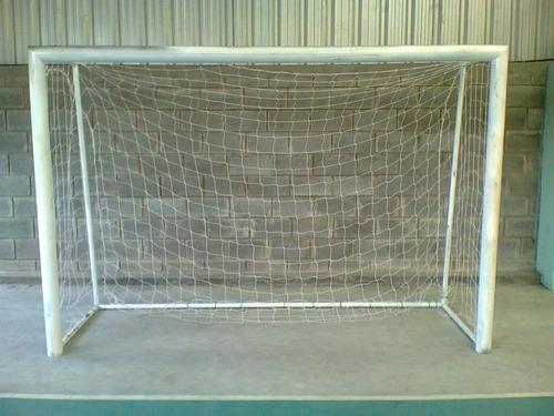 arco  para futbol de 3 x 2 mts en caño 3   en lomas de zamor