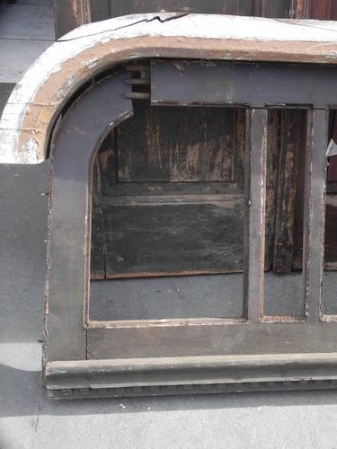 arco portal antigo madeira  riga ano 1930 demolição