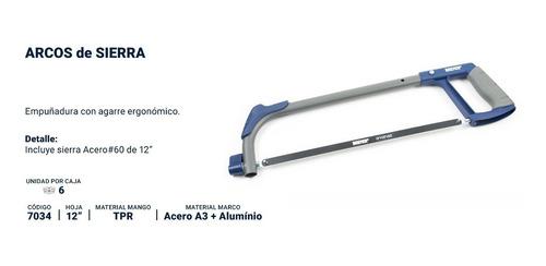 arco sierra manual bremen tubular 300mm con hoja cod. 7034 dgm
