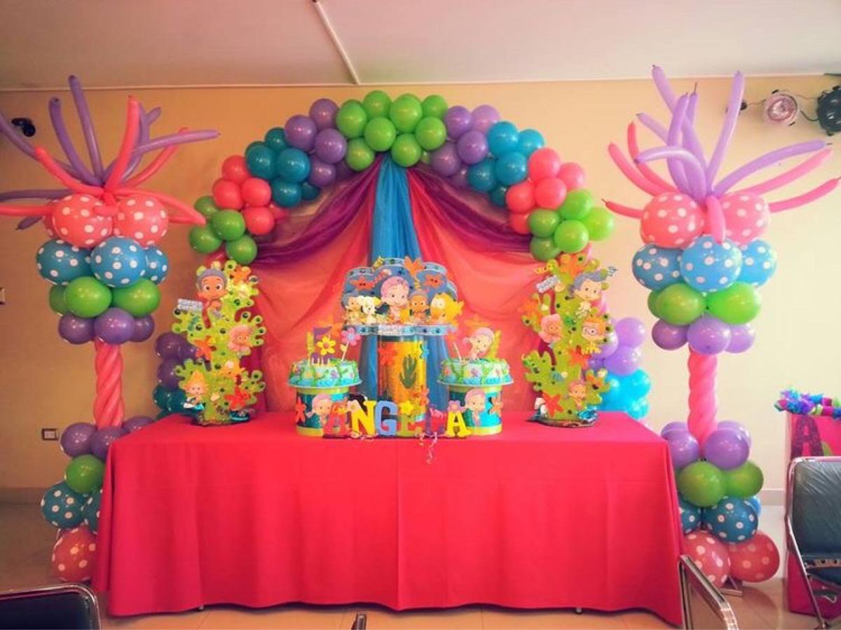 Arco y dos pilares globos 2 en mercado libre - Como hacer decoracion con globos ...