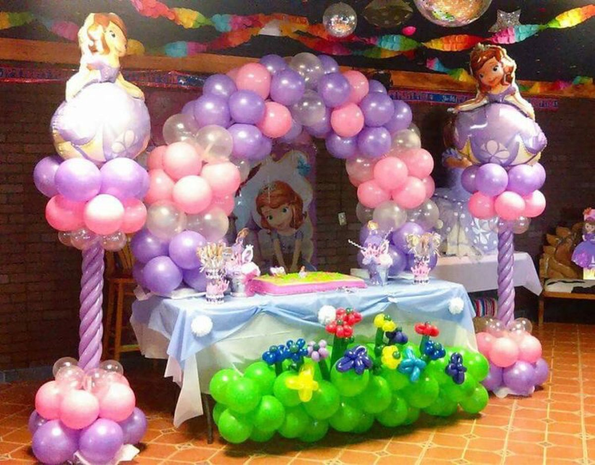 Arco y dos pilares globos 2 en mercado libre for Globos para quinceaneras