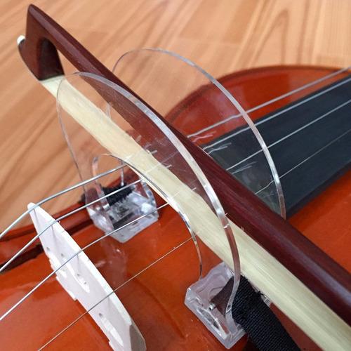 arcos corrector magicos para clases violin 1/4, 3/4 y 1/2