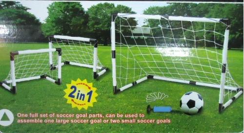 arcos de futbol niños armables