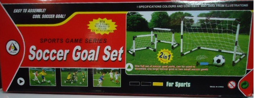 arcos de futbol para niños