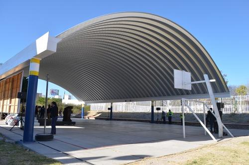 arcotechos / techos curvos / domos / techos sin estructura
