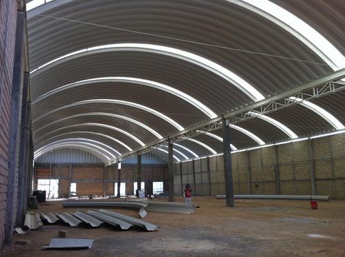 arcotecho,techo curvo,curvo techo,estructura metalica