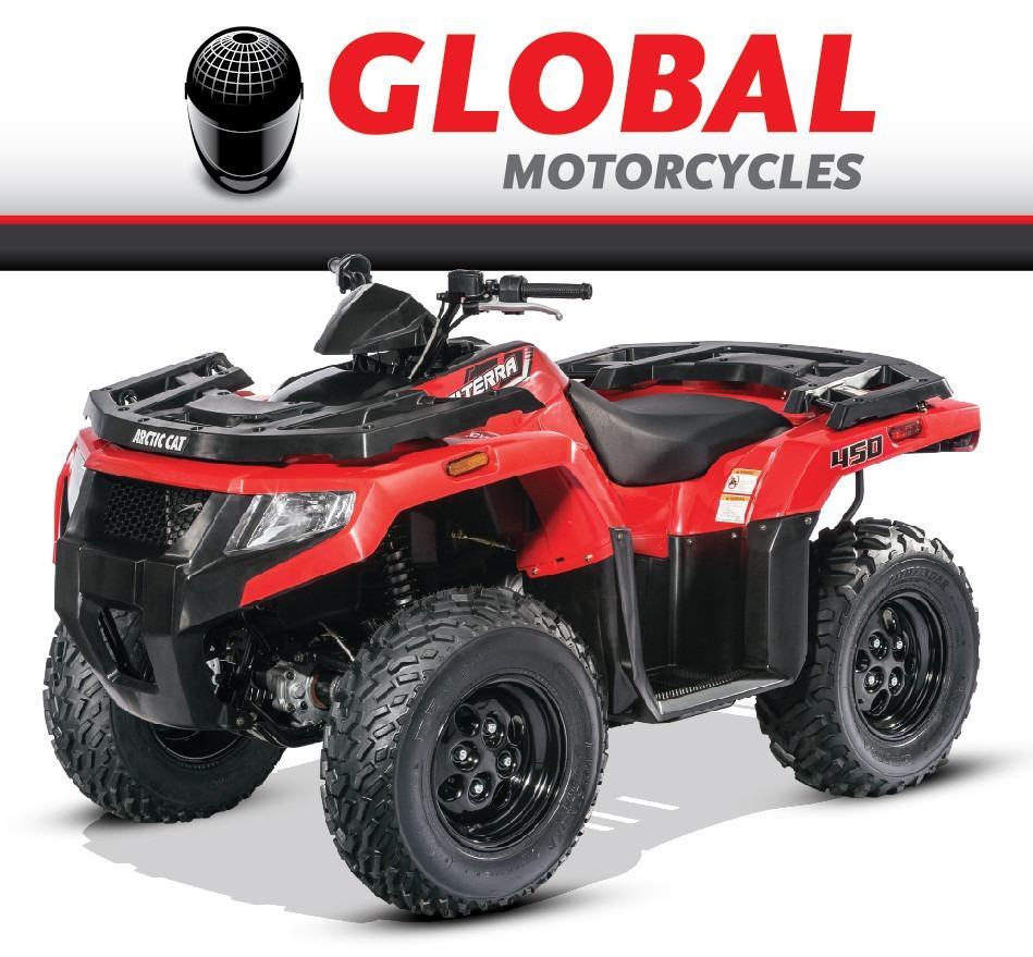 Arctic Cat Atv >> Arctic Cat Atv New Alterra 450 4x4 Global Motorcycles U S  8