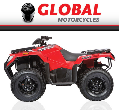arctic-cat - atv new alterra 450 - global motorcycles