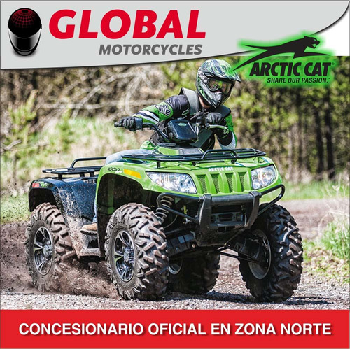 arctic-cat atv recreation 1000 xt zona norte