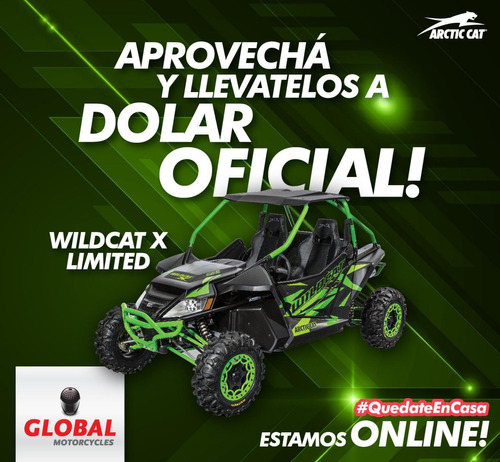 arctic cat - wildcat x limited global motorcycles