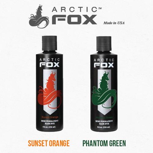 arctic fox tinte fantasía