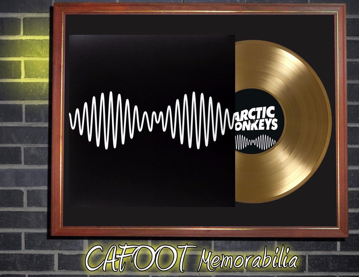 Arctic Monkeys Am Tapa Lp Y Disco De Oro Enmarcados - $ 599,00 en ...