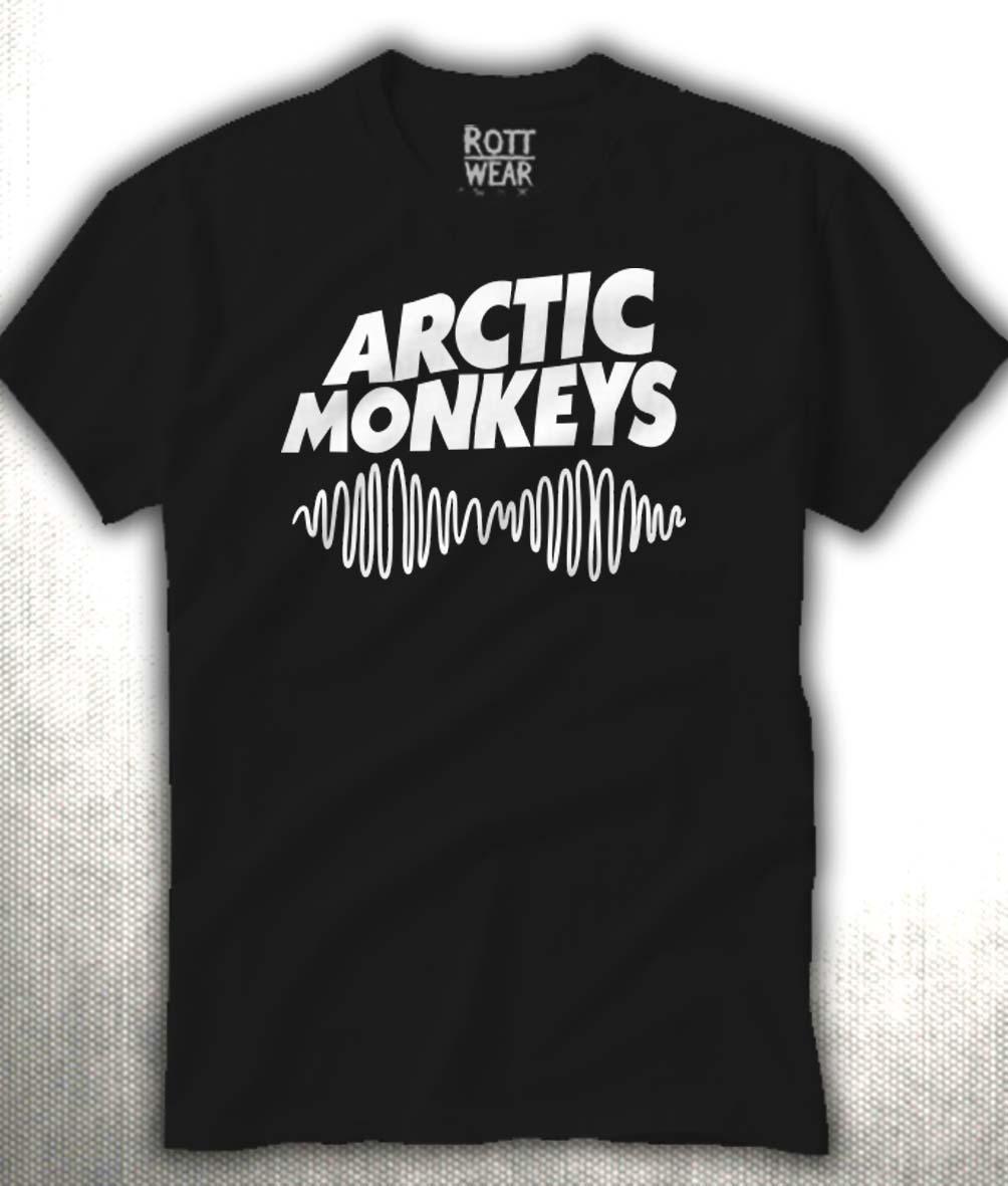 Arctic Monkeys Playera Hombre Rott Wear -   205.00 en Mercado Libre 7280743d01fc8