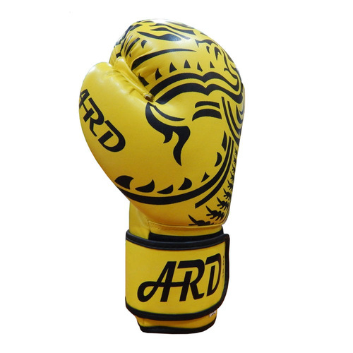 ARD® Art Leather Boxing Gloves Fight Punching Bag MMA Muay Thai Kickboxing