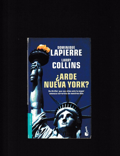 arde nueva york - dominique lapierre & larry collins